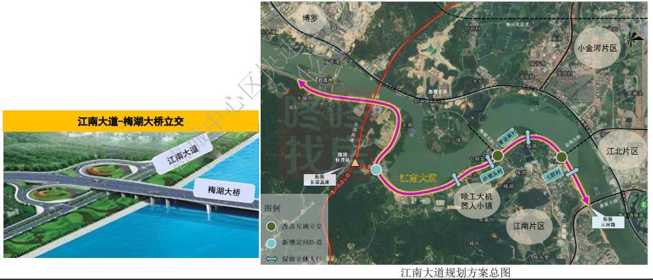 两环十射!惠城中心区快速进出城交通详细规划出炉