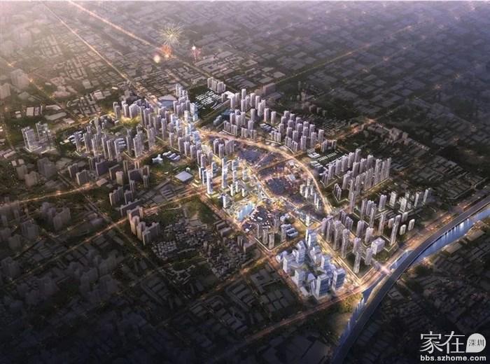 沙井万丰海岸城旁—华润金蚝小镇,已立项,宝安重点城市更新项目
