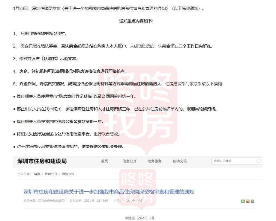 官方解读二手房参考价 对买房贷款影响(深圳新政24小时)