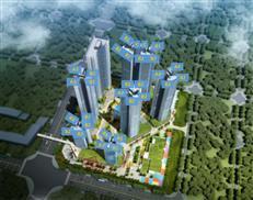 前海公园、地铁物业 龙光前海天境建面约107-143㎡户型分析