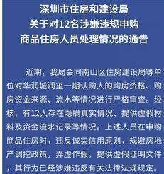 深圳新政后买房多严?被取消认筹、银行线下验证,父母首付要证明-咚咚地产头条