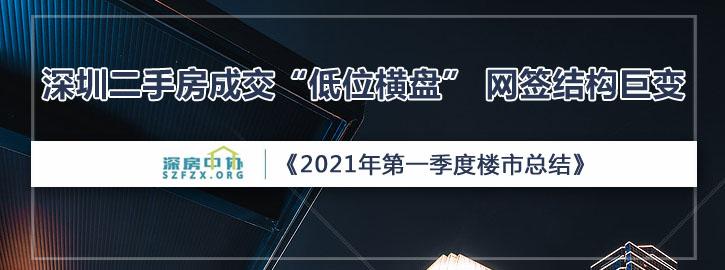 """深圳二手房成交量""""低位横盘""""!网签结构悄然变化"""