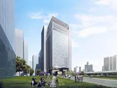 高约112米!前海信息枢纽大厦主体结构启动施工-咚咚地产头条