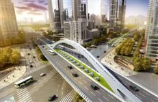 黄木岗枢纽永久桥开始架设!7、14、24号地铁三线交汇