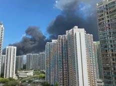 突发,香港发生火灾浓烟弥漫!深圳市民隔海关注-房网地产头条