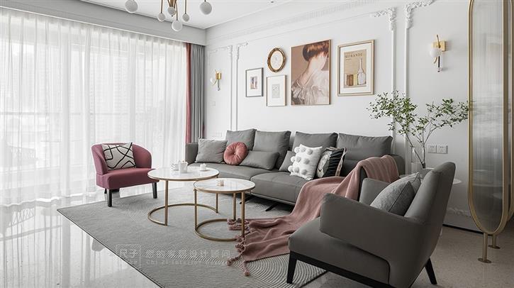 【尺子室内设计】暖 烟 | 优雅主义新风尚,精致复古的浪漫混搭-咚咚地产头条