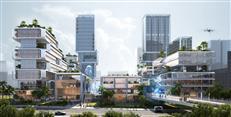 前海十单元3小镇设计方案定了!定标方案效果图曝光