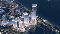 灵山岛尖佳作,南沙封面,越秀国际金融中心B塔正式封顶