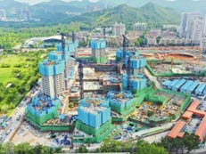 """深圳棚改""""第一村"""",华富村棚改项目预计明年12月竣工"""